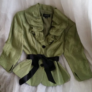 Adrianna Papell Evening Essentials - Ruffle Jacket